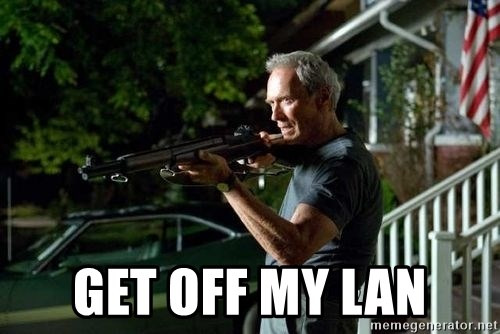 Clint Eastwood Get Off My Lawn - get off my lan