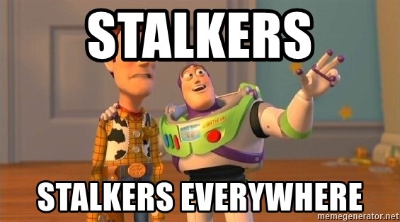 Consequences Toy Story - stalkers stalkers everywhere