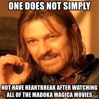 one does not simply not have heartbreak after watching all