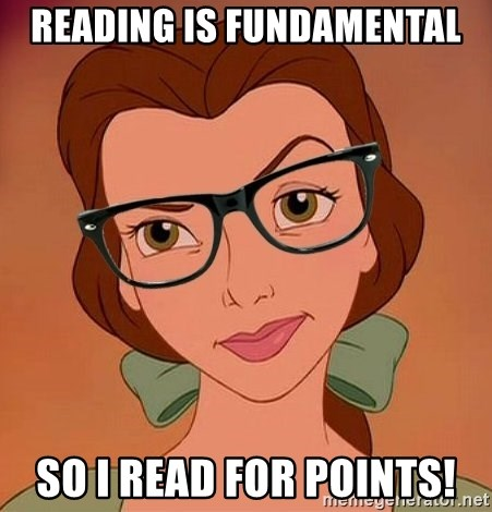 Reading Is Fundamental So I Read For Points Hipster Belle Meme
