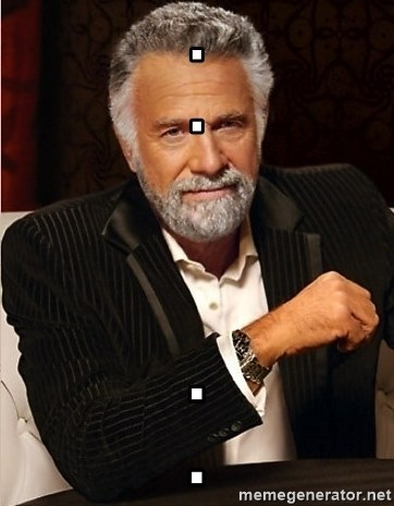 the I dont always guy - .                                                             . .                                   .