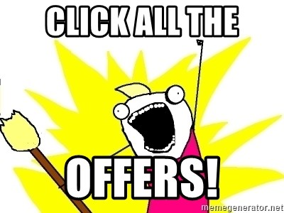 X ALL THE THINGS - Click All the offers!