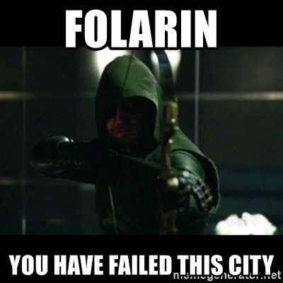 YOU HAVE FAILED THIS CITY - folarin yOU HAVE FAILED THIS CITY