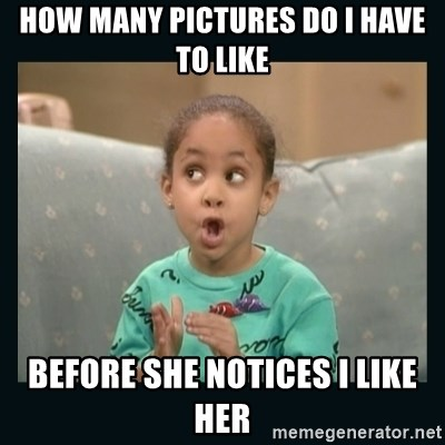 Raven Symone - How many pictures do I have to like Before she notices I like her