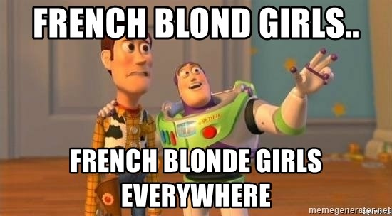 WoodyAndBuzz - french blond girls.. french blonde girls everywhere