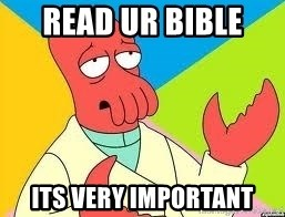 Need a New Drug Dealer? Why Not Zoidberg - read ur bible  its very important