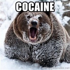 Cocaine Bear - COCAINE