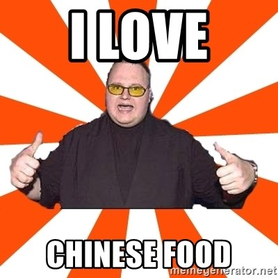 soykimschmitz - I LOVE CHINESE FOOD
