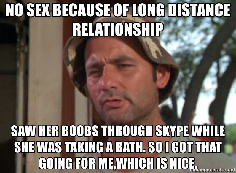 No Sex Because Of Long Distance Relationship Saw Her Boobs Through