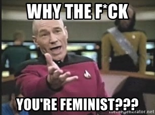 Captain Picard - why the f*ck you're feminist???