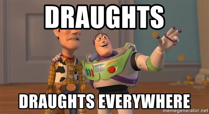 ORIGINAL TOY STORY - Draughts Draughts everywhere