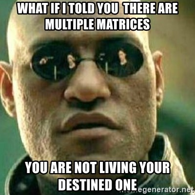 What If I Told You - what if i told you  there are multiple matrices you are not living your destined one