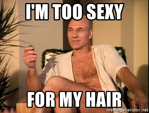 Sexual Picard - I'm too Sexy For my Hair