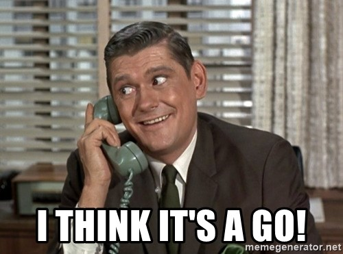 Dick York green telephone -  I think it's a go!