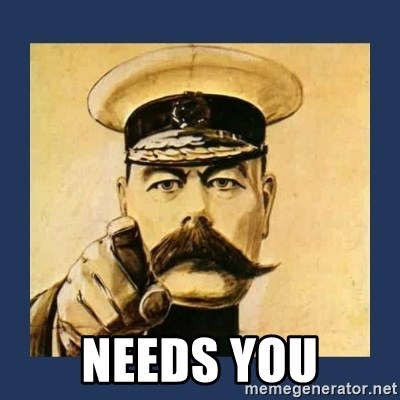 your country needs you -  Needs You