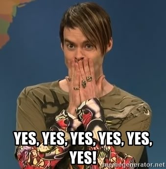 SNL Stefon -  YES, YES, YES, YES, YES, YES!