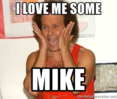 Richard Simmons Screaming - I love me some  Mike