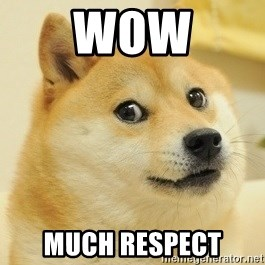 Dogeeeee - wow much respect