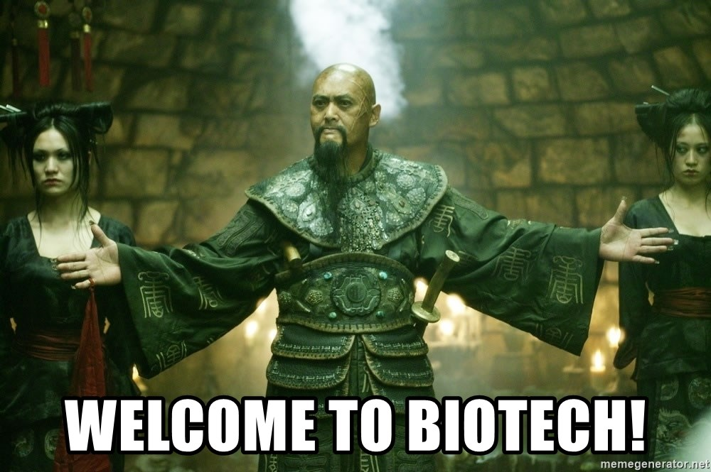 Welcome to Singapore - welcome to biotech!
