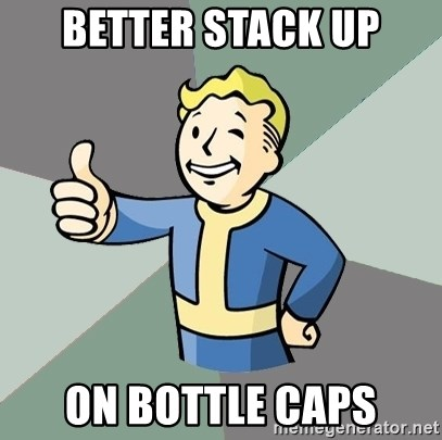 Fallout Boy - Better stack up on bottle caps