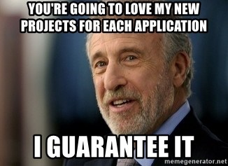 Mens Warehouse Guy - You're going to love my new projects for each application i guarantee it