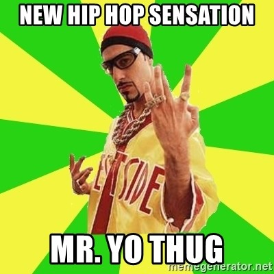 Ali G - new hip hop sensation mr. yo thug