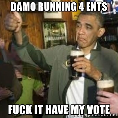 obama beer - Damo Running 4 Ents Fuck it have my vote