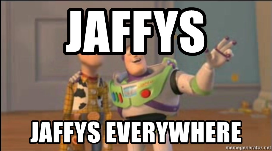 X, X Everywhere  - Jaffys jaffys everywhere