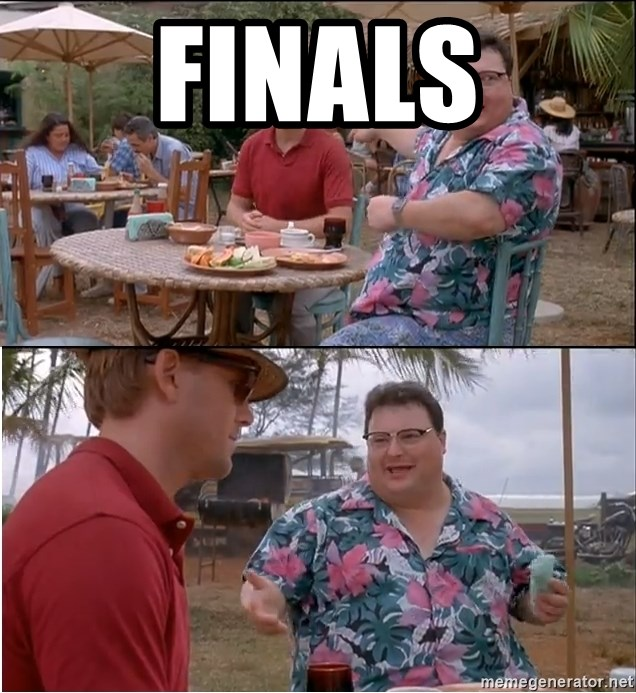 See? Nobody Cares - Finals