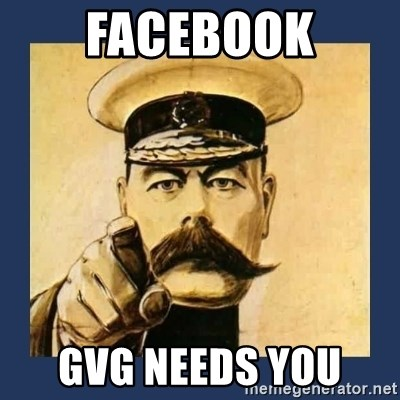 your country needs you - Facebook GVG Needs You