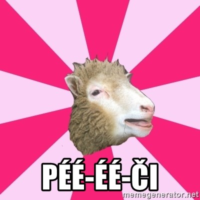 Smut Sheep -  péé-Éé-ČI
