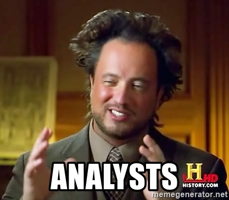 Ancient Aliens -  analysts