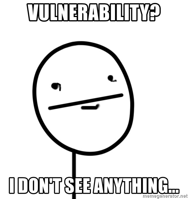 poker f - Vulnerability? I don't see anything...