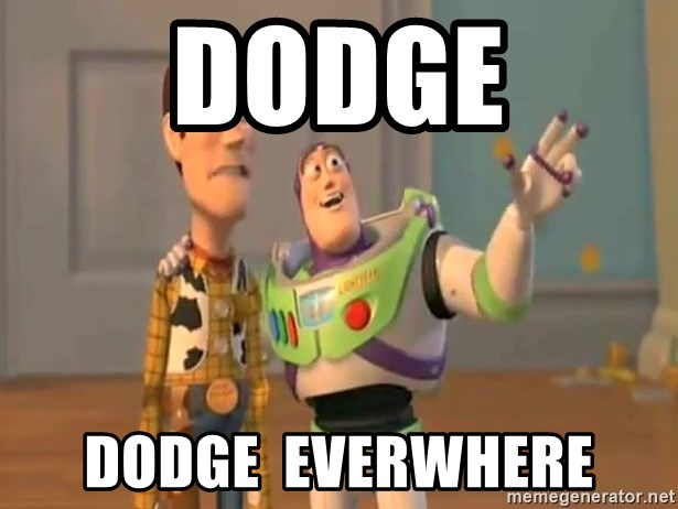 X, X Everywhere  - Dodge dodge  everwhere