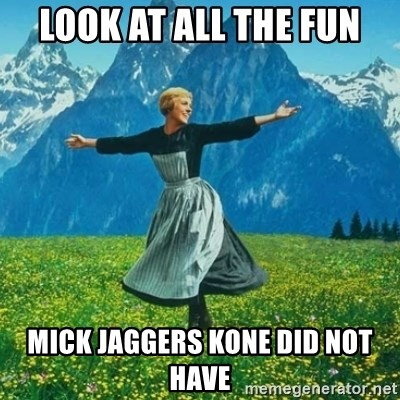 Look at All the Fucks I Give - Look at all the fun Mick jaggers kone did not have