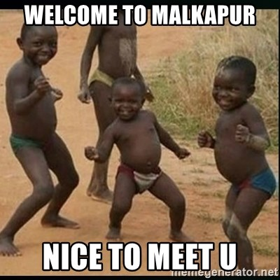 Dancing black kid - welcome to malkapur nice to meet u