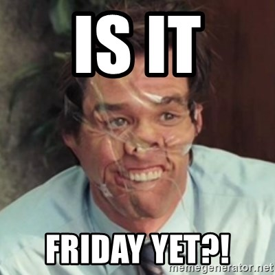 Jim Carrey - Is it Friday yet?!