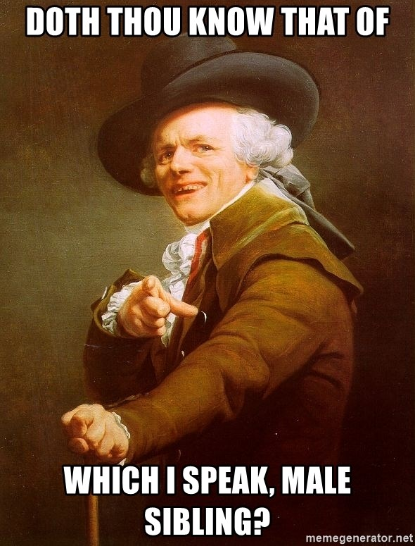 Joseph Ducreux - doth thou know that of which i speak, male sibling?