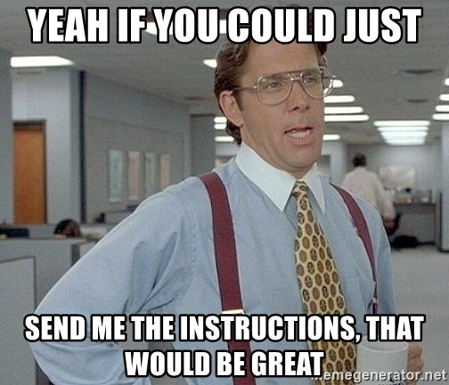 yeah if you could just write a 6 page paper over springbreak thatd be great - YEAH IF YOU COULD JUST SEND ME THE INSTRUCTIONS, THAT WOULD BE GREAT