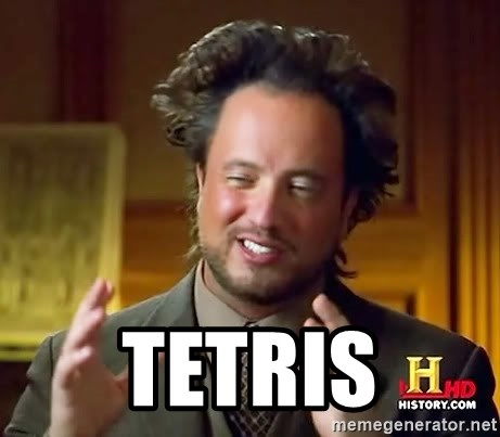 Ancient Aliens -  Tetris