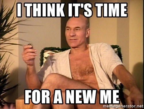 Sexual Picard - i think it's time for a new me