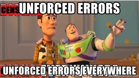 Toy Story Everywhere - Unforced Errors Unforced Errors everywhere