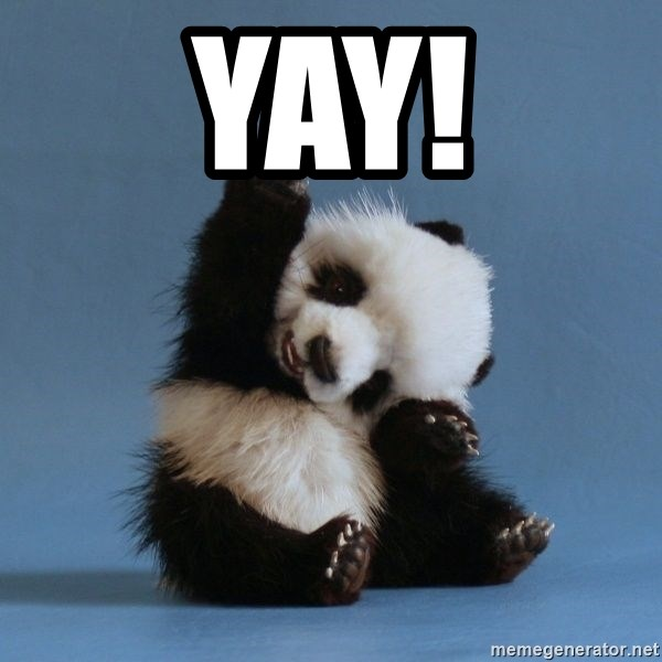 Yay Happy Panda Meme Generator Pictures without captions may be removed by a moderators discretion. yay happy panda meme generator