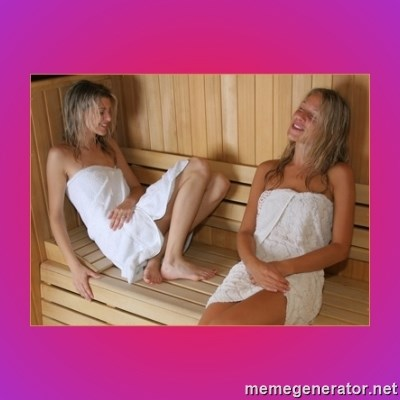 SAUNA GIRLS -