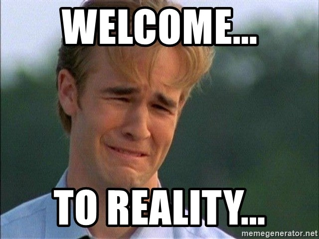 Dawson Crying - Welcome... to reality...