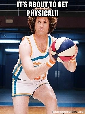 Will Ferrell Basketball - It's about to get PHYSICAL!!