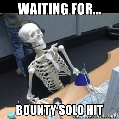 Skeleton computer - waiting for... bounty solo hit