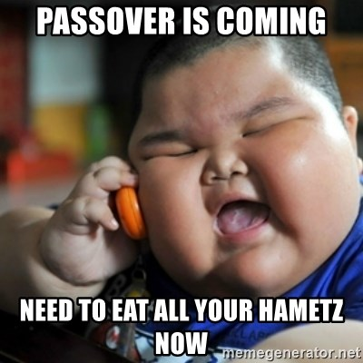 fat chinese kid - Passover is coming need to eat all your hametz now