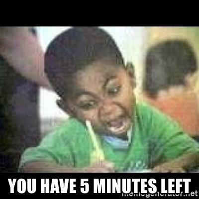 Black kid coloring -  You have 5 minutes left