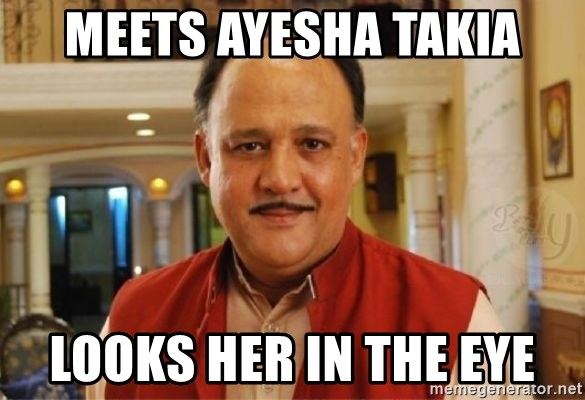Image result for ayesha takia meme